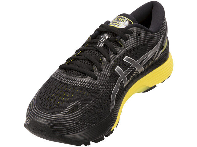 eebd1c1233771 ... Road Running Shoes  asics Gel-Nimbus 21 Shoes Men black lemon spark.  asics ...